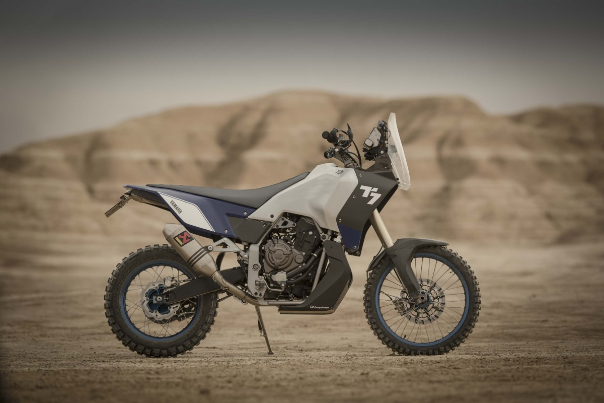 Yamaha Begins Teasing T7 Adventure Bike